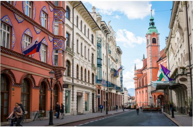 The capital of Slovenia, Ljubljana