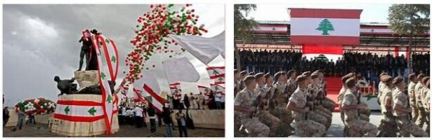The independence of Lebanon
